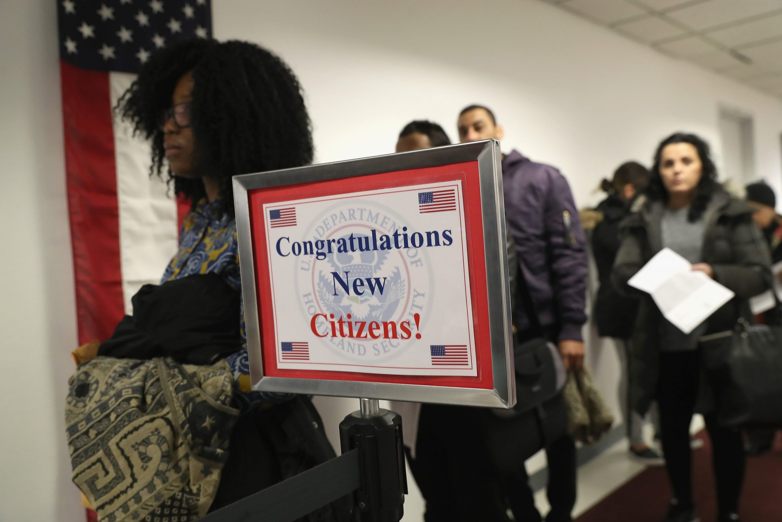 Congratulations New Citizens